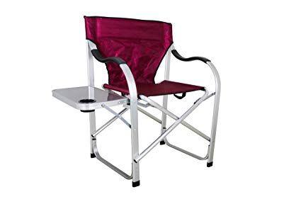 stylish camping sl1215 burgundy heavy duty folding camping director rh pinterest com