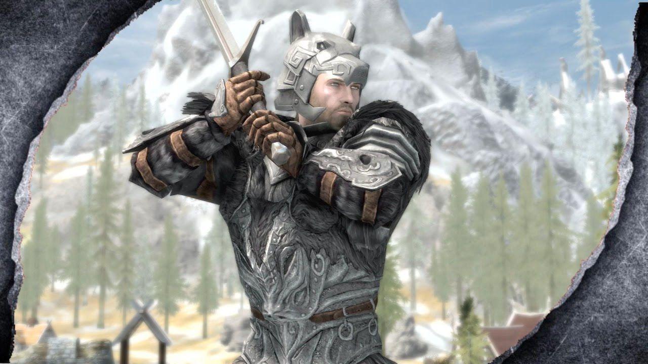 Skyrim Remastered Wolf Knight Armor Mod Showcase Killerkev In 2021 Wolf Knight Knight Armor Knight