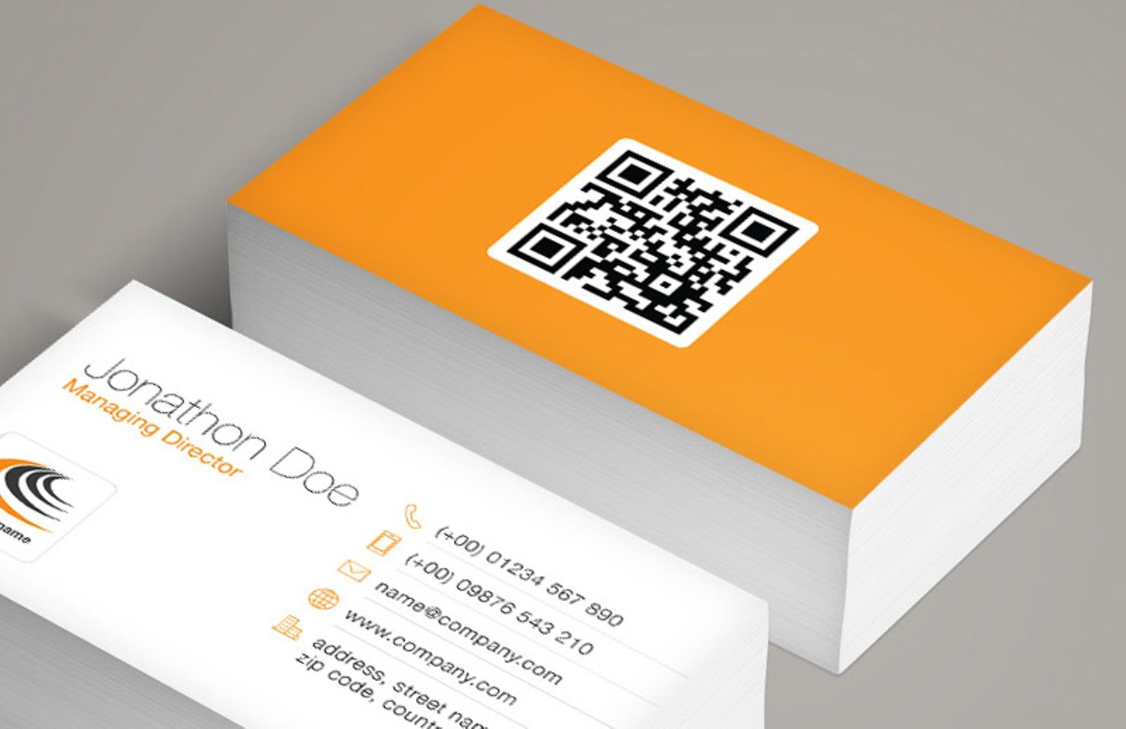 Afbeeldingsresultaat voor example business cards with