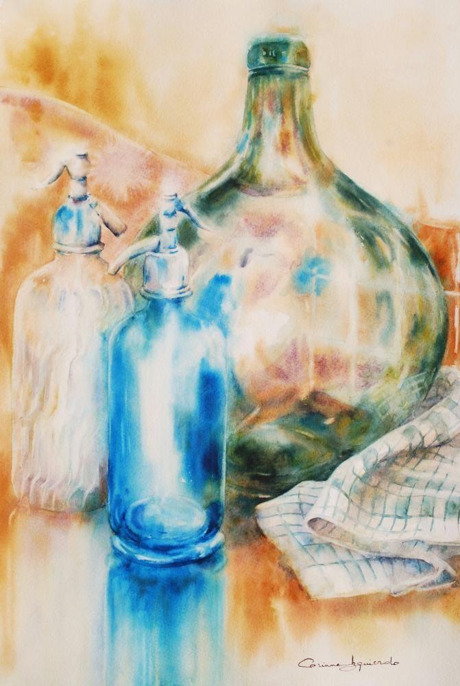 Corinne Izquierdo Aquarelliste 11 Peinture Artistique Nature