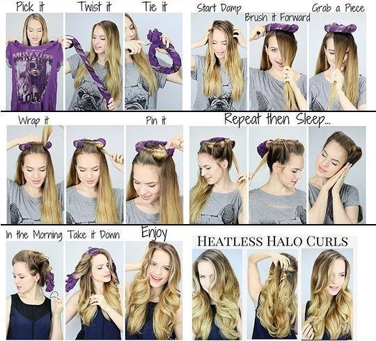 How To Curl Hair Fast Hairrestoration Fasthairstylesforlonghair Curls For Long Hair Long Hair Styles Overnight Hairstyles