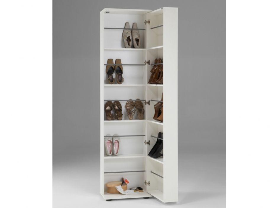 Meuble A Chaussures Walker 1 Porte 1 Miroir Blanc Meuble Chaussure Placard Chaussure Et Miroir Blanc