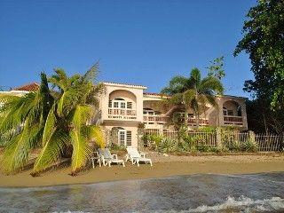 rincon villa rental luxury beachfront villa right on beautiful rh pinterest es