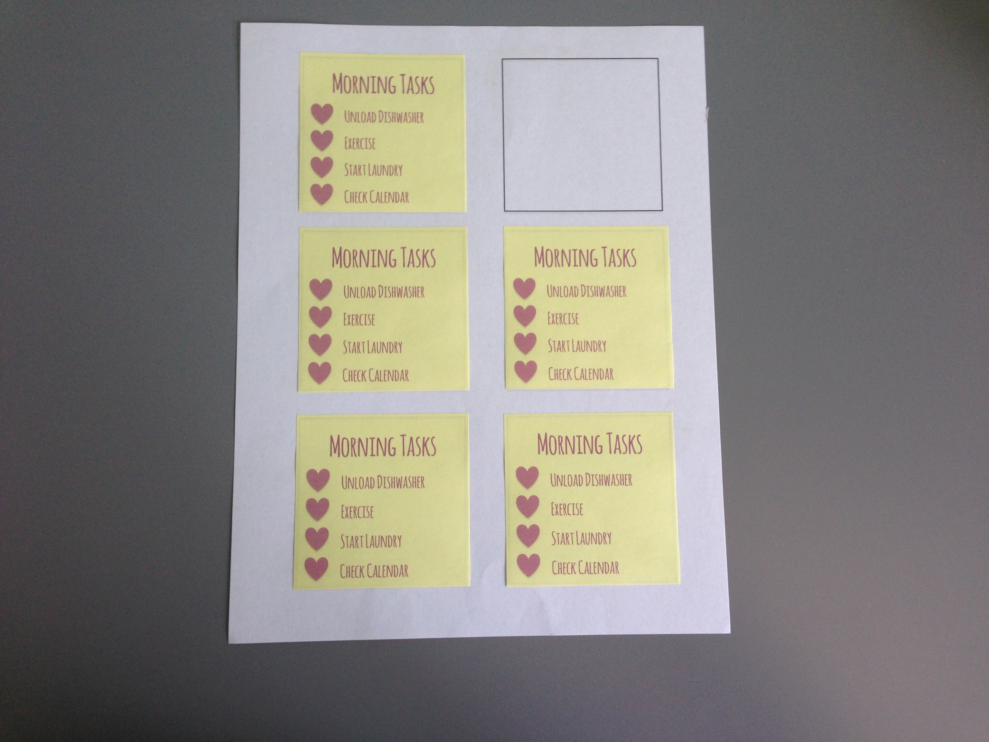 How To Print On Sticky Notes Free Printable Template And Note - Post it labels templates