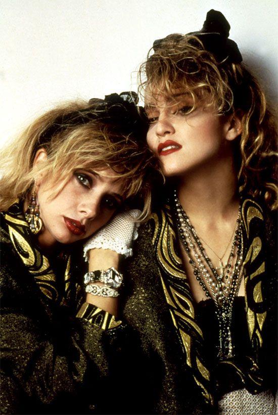 Rosanna Arquette & Madonna in 'Desperately Seeking Susan ...