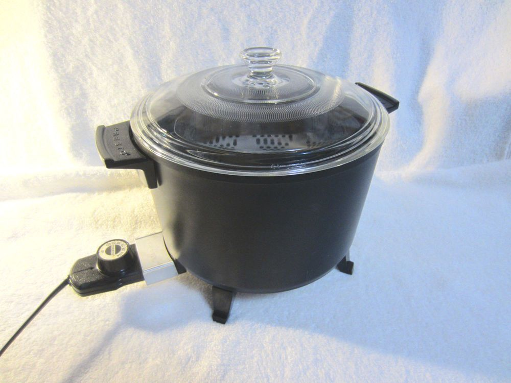 Vtg Presto Kitchen Kettle 6 Qt Cooker Deep Fryer Presto 06000