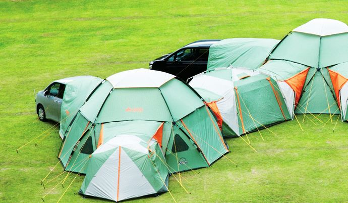 Endless Combination Of Decagon Modular Tents Keep Luxury At Hand