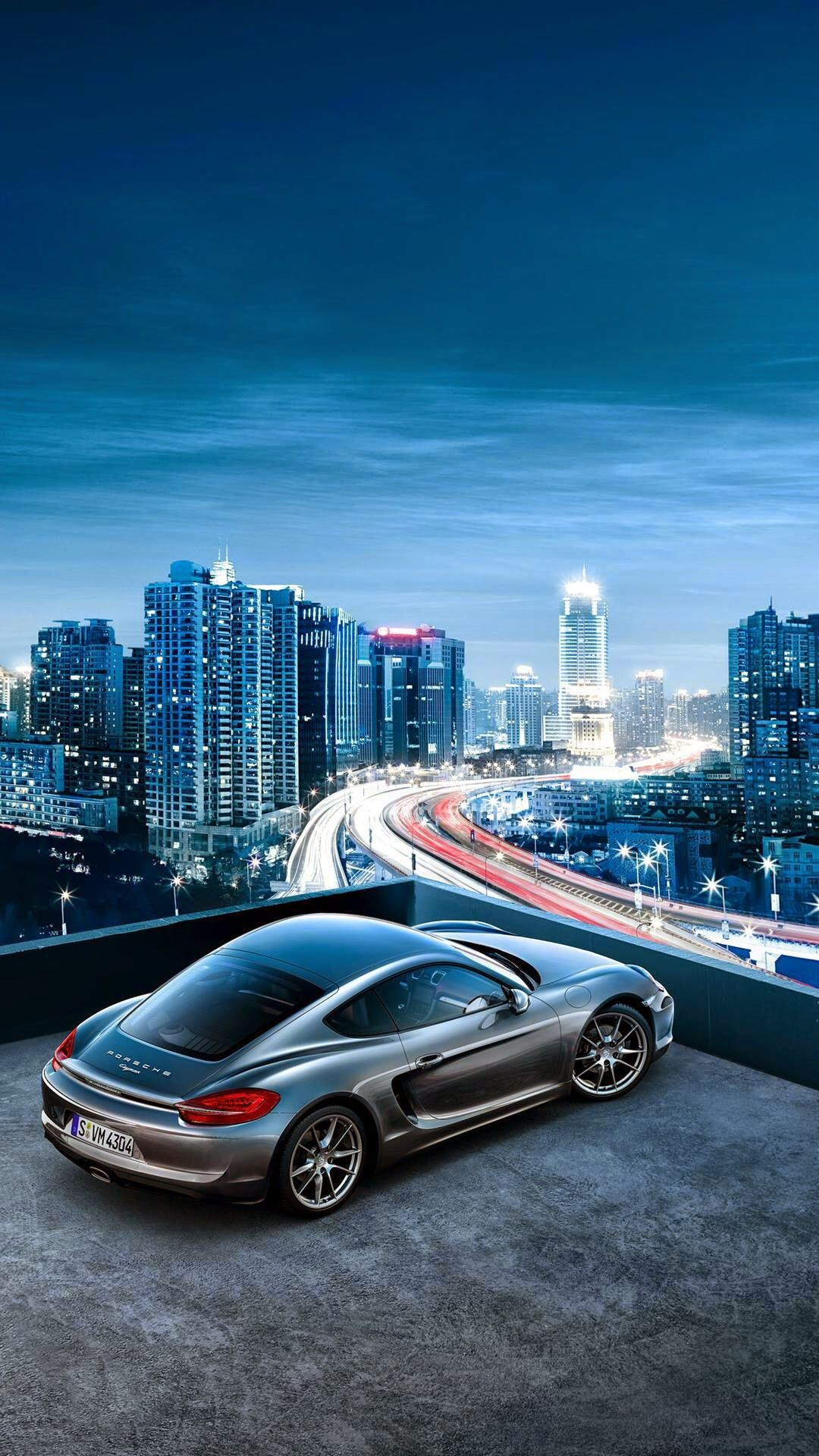 Porsche Cayenne City View Iphone Wallpaper Wallpaper