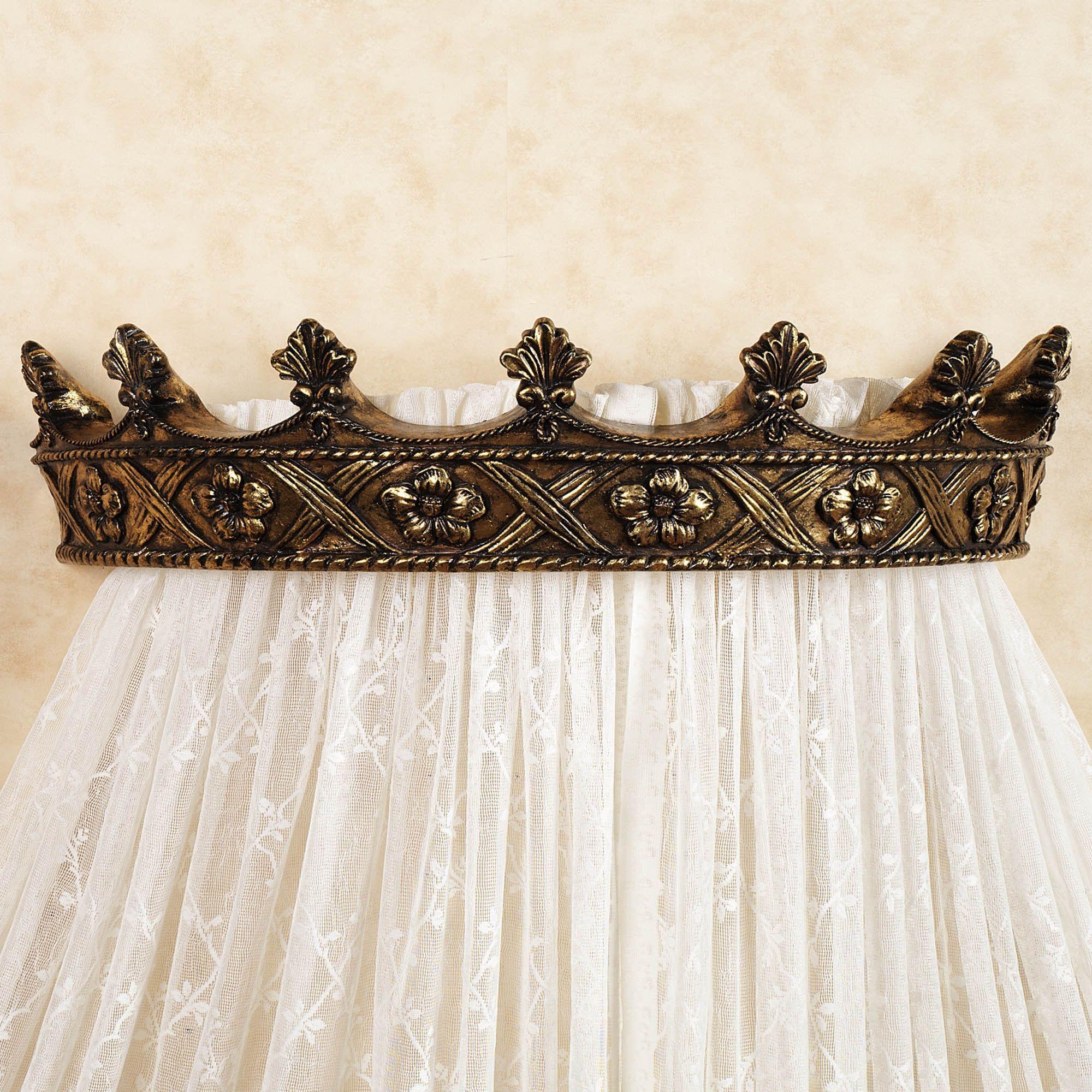Noble Crown Wall Teester Bed Crown | Bed crown, Bed crown ... on Wall Teester Bed Crown  id=40694