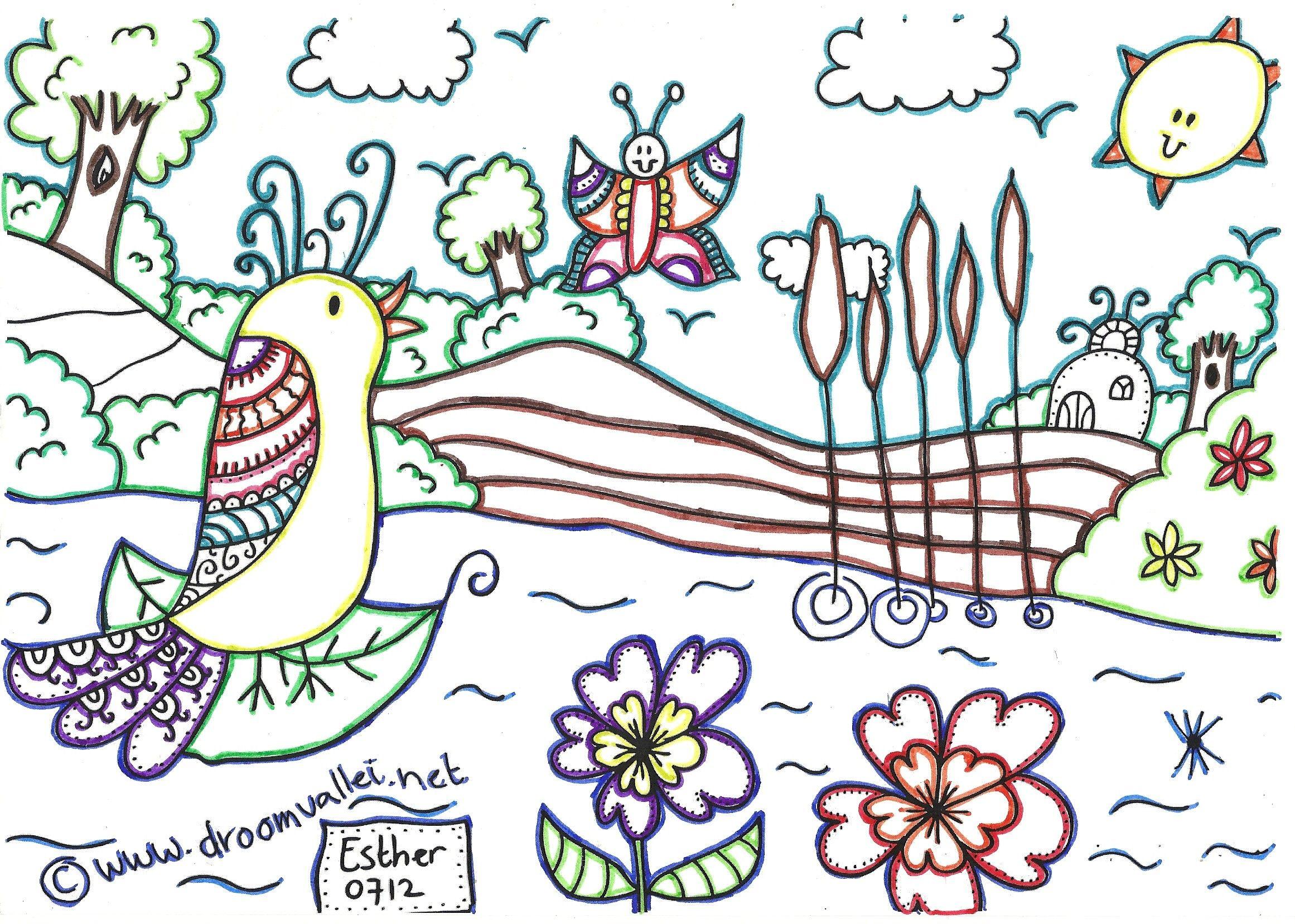 Marlieke 22 Jaar Oud Heeft Deze Kleurplaat Ingeleverd Wat Een Leuk En Creatief Idee Kleurplaten Creatief Idee