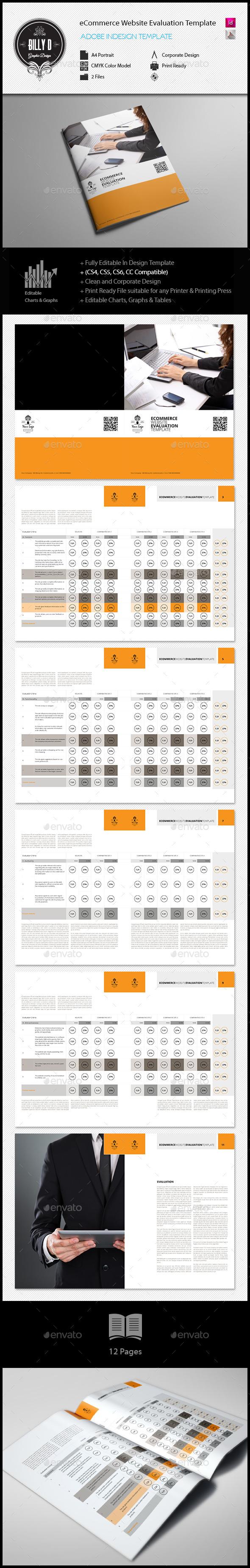 Ecommerce Website Evaluation Template | Pinterest | eCommerce ...