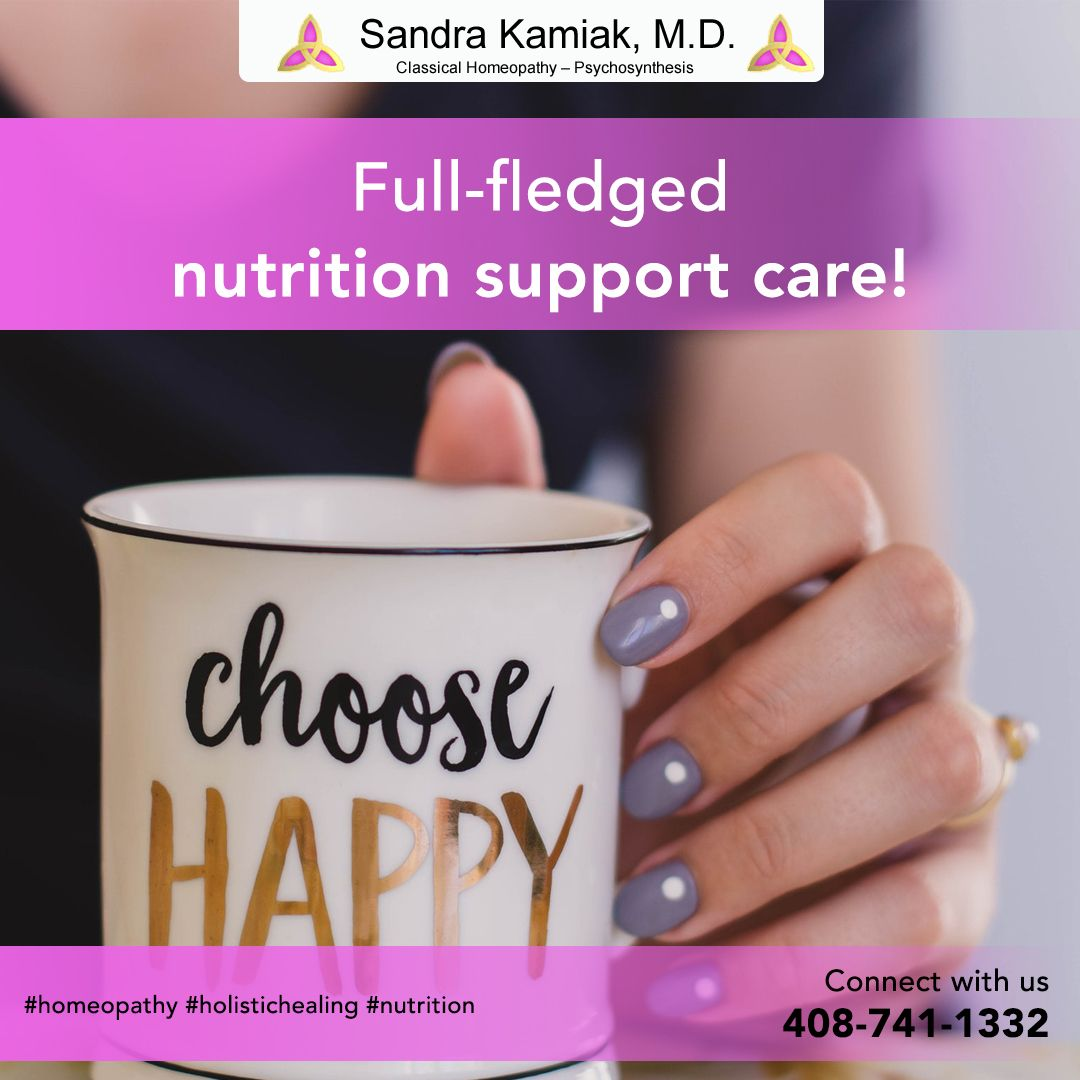 Fullfledged nutrition support care! in 2020 Homeopathy