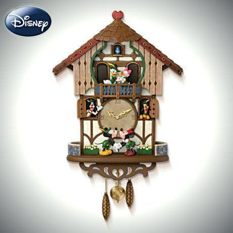 Disney Cuckoo Clock: Sweetheart Chalet   Cuckoo clocks <3 ...