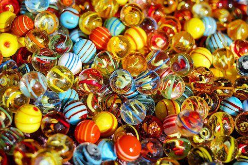 Marbles Glass Marbles Balls Knikkers Ballen Jeugdherinneringen