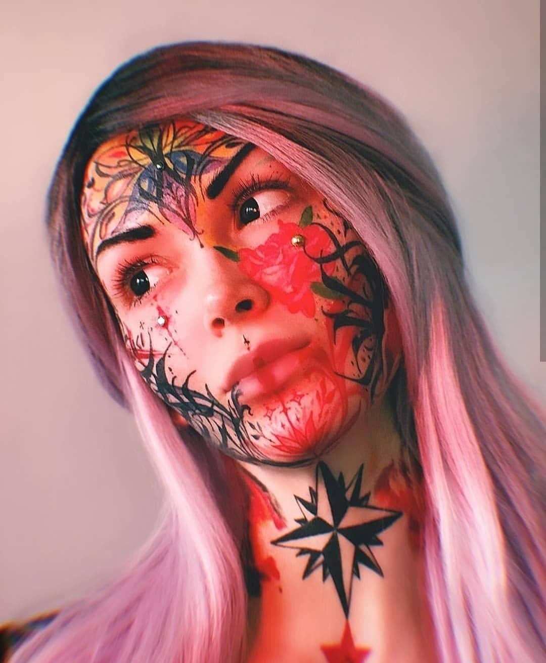 "Face Tattoo Filter Instagram: FACE TATTOO CREW 🔥 On Instagram: ""@martizmatterz_cs"