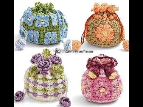 Crochet Patterns For Free Crochet Bags 2226 Youtube Crochet