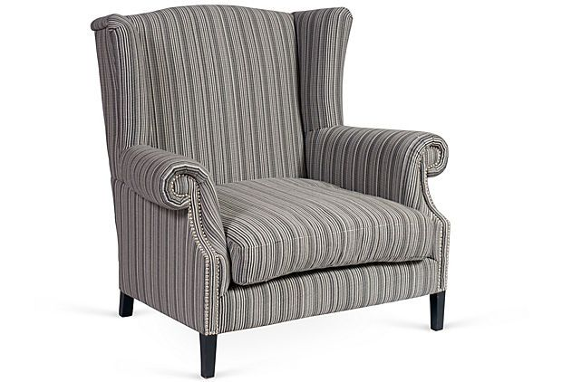 Best How Comfortable Does That Look Plush Wingback Armchair 400 x 300