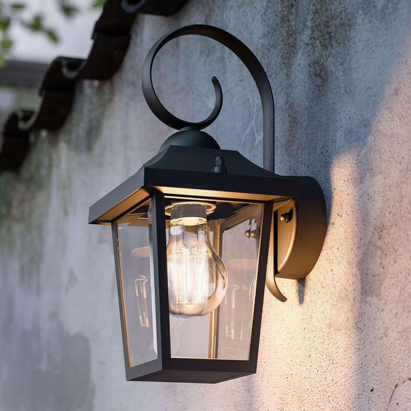 Wand-Lampe LED Hof Außen-Beleuchtung Haus-Tür Leuchte mit Bewegungsmelder Sensor