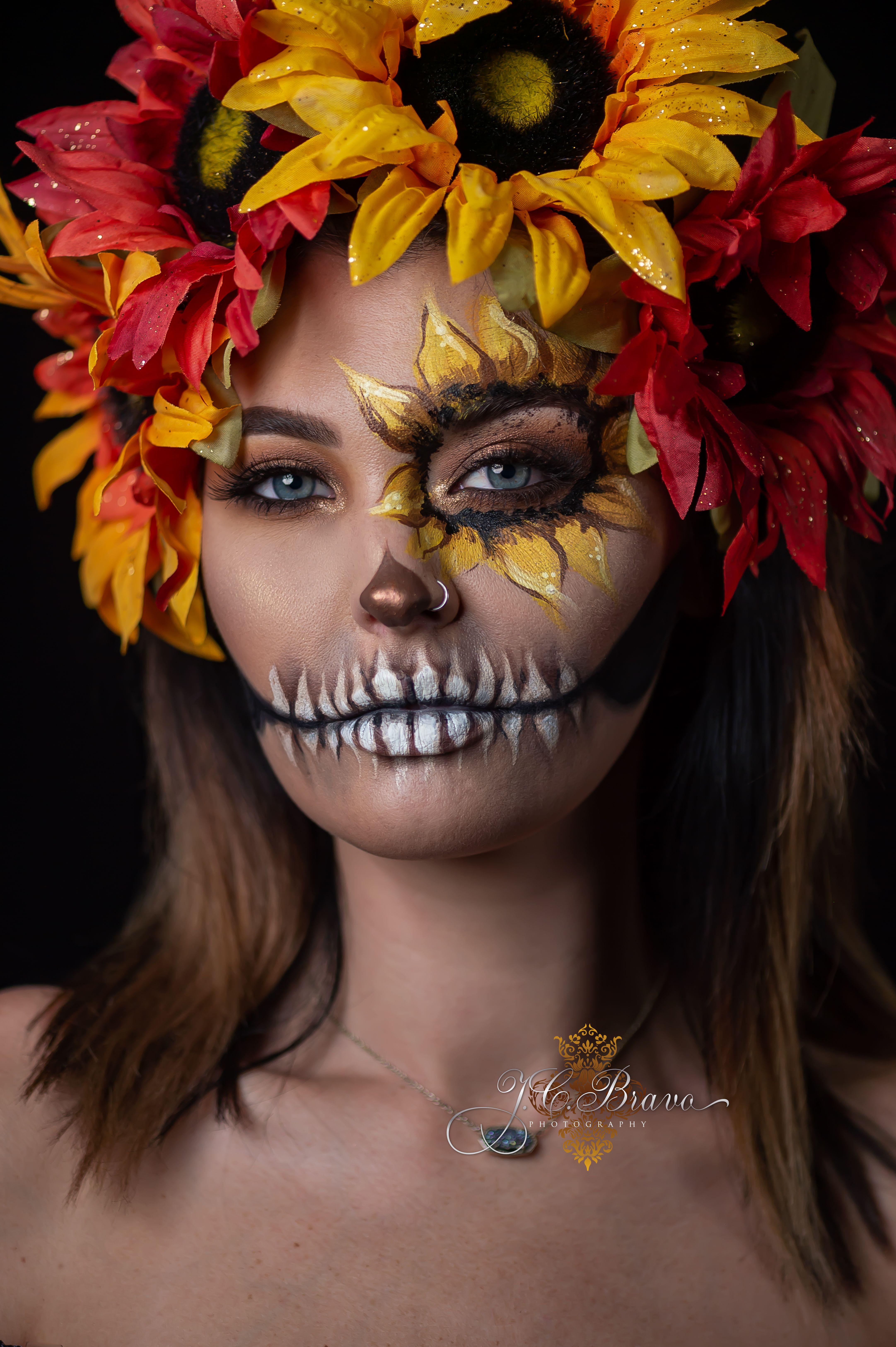 Sugar Skull shoot from our annual Dia De Los Muertos in