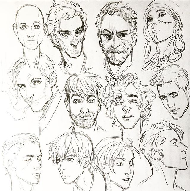 Art Sketch Face From Photo Sketches Drawing Heads Drawings