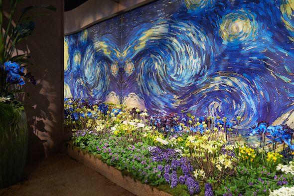 macy s flower show s art in bloom the art of technology flower
