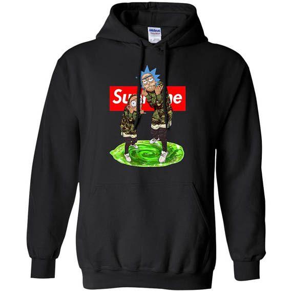 Rick and Morty Supreme Hoodie Supreme Sweatshirt Supreme