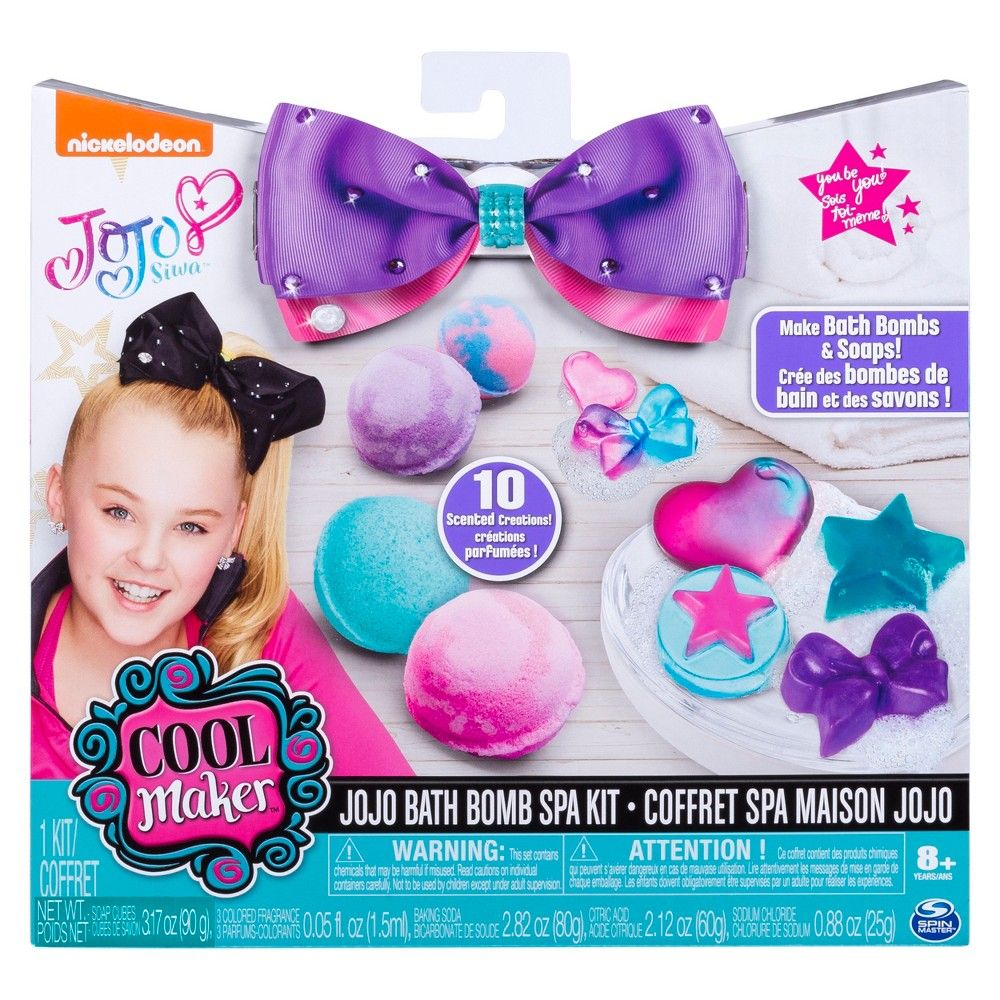 Küchenideen kmart cool maker jojo siwa bath bomb and soap spa activity kit in
