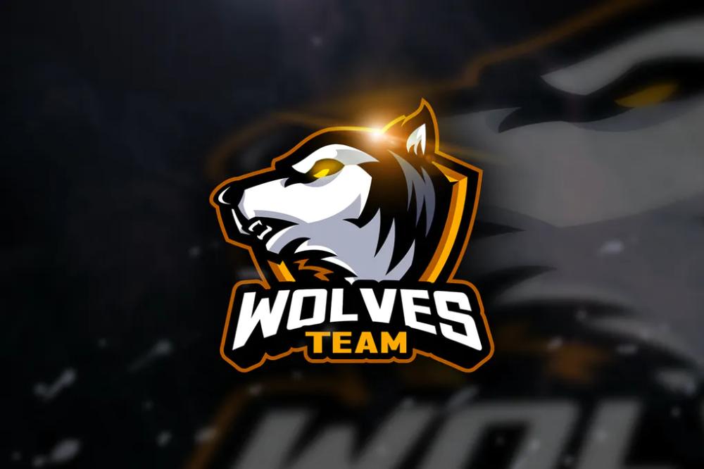 Wolf Team Mascot & Esport Logo by aqrstudio on Desain