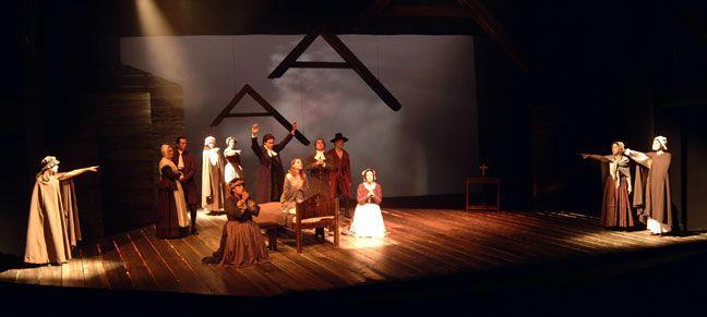Crucible - Holy Cross Drama | Theater Tricks in 2019