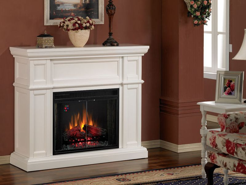 White Charmglow Electric Fireplace | Charmglow Electric ...
