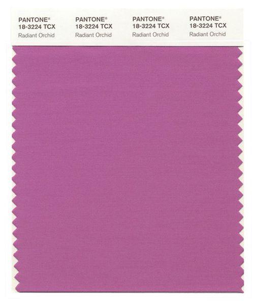 Pantone 18-3224 Radiant Orquid