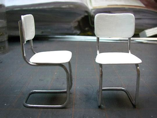 Build Your Own Mini Modern Seats For The Dollhouse