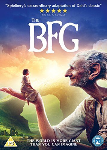 The Bfg 2016 Movie Dvd Steven Spielberg Christmas Gift Ideas On