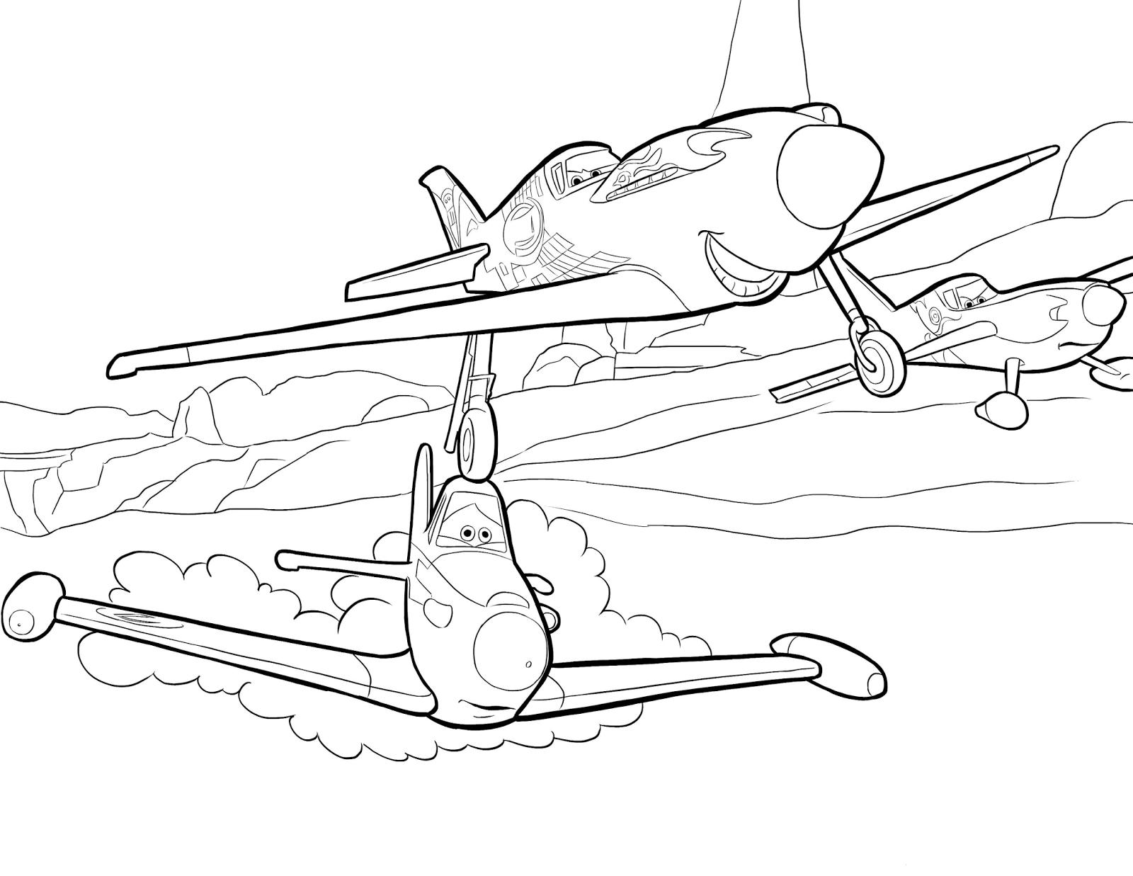 Kolorowanki Z Bajki Samoloty Do Wydruku Pokoloruj Swiat Airplane Coloring Pages Planet Coloring Pages Coloring Pages