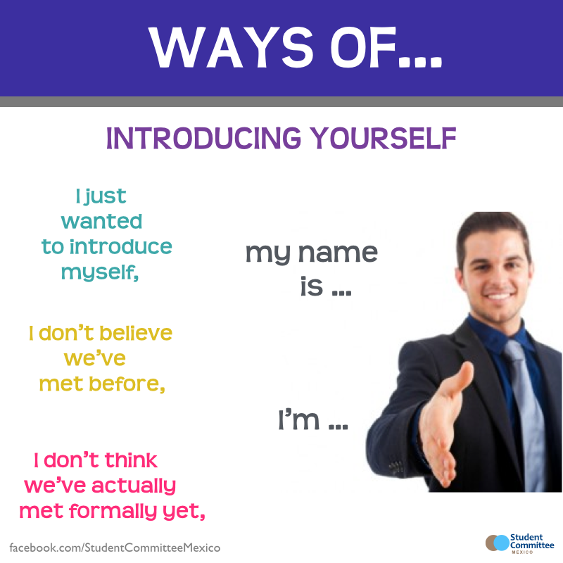 Introducing Yourself U0026 39  Ways Of     Repinned By Chesapeake