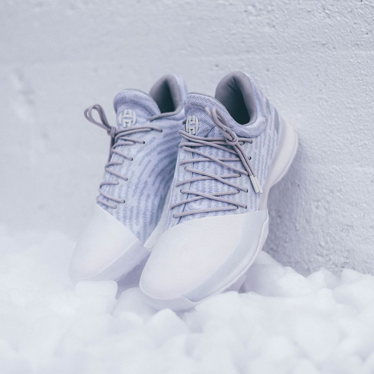 harden all white shoes