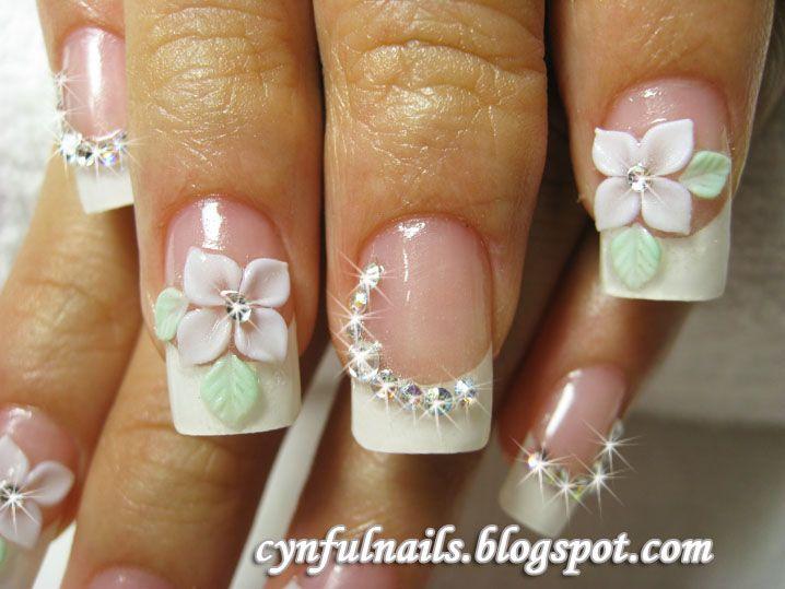 Image via 3d flower nail image alto relieve y 3d pinterest image via 3d flower nail image prinsesfo Gallery