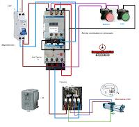 Motor bomba controlada con presostato diagram and survival for Presostato bomba agua