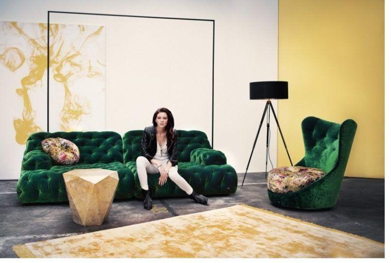 Das Wohnzimmer verschönern mit Sofa Napali von Bretz #homedecor - gemütliches sofa wohnzimmer