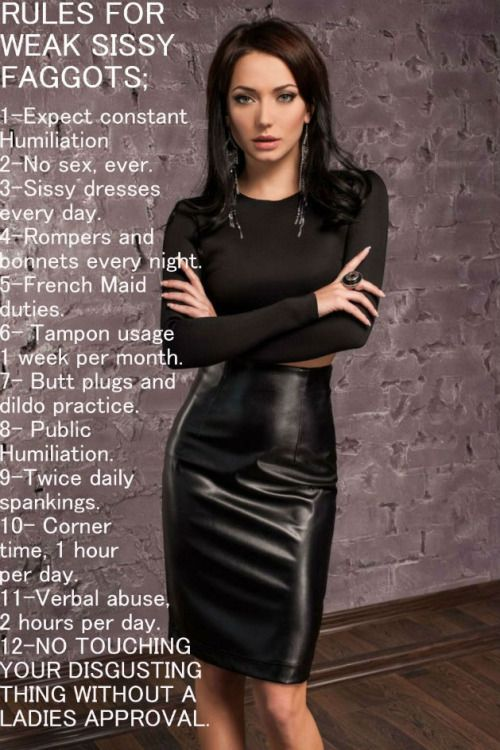 Lady makes the rules. | Cuckold Rules | Pinterest