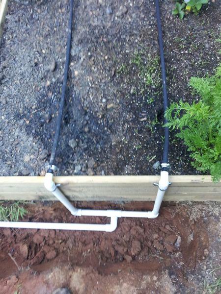 Garden Irrigation System Equal Pressure Raised Bed Easy Food Storage Gardening Pinterest