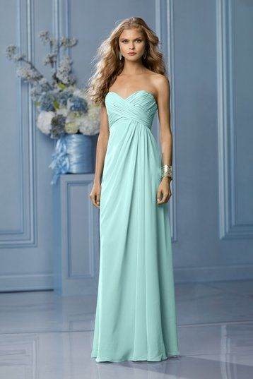 Shop Wtoo Bridesmaid Dress - 491 in Crystal Chiffon at Weddington Way. Find the perfect made-to-order bridesmaid dresses for your bridal party in your favorite color, style and fabric at Weddington Way.