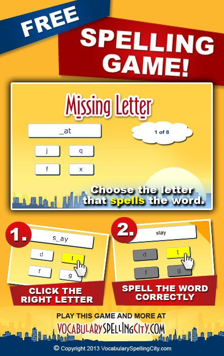 Missing Letter Is A Letter Recognition Game That Provides Students