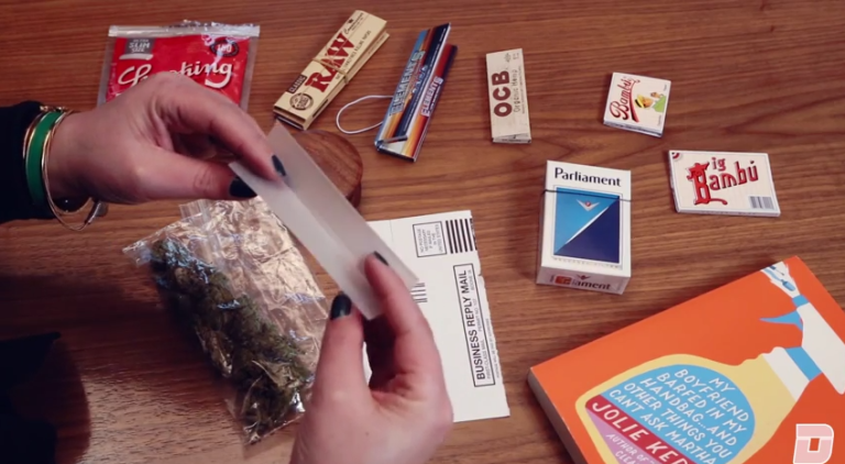 Watch: How to Roll a Perfect Joint  - Esquire.com