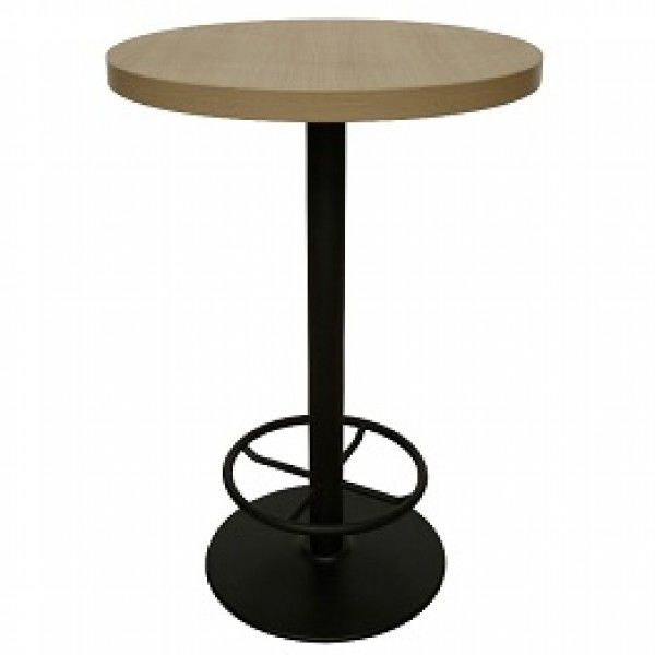 Exceptionnel Black Poseur Bar Tables   Pedestal Table Base With Foot Rail With Natural  Beech Or Black Table Top. This Nightclub Table Is Suitable For Fast Food ...