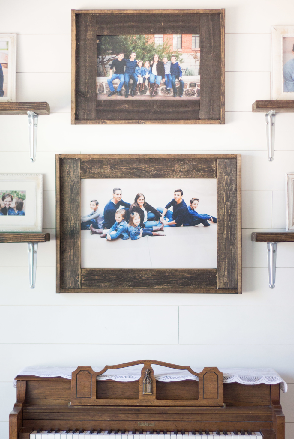 Diy Frame Ideas Picture On Wood Wood Picture Frames Diy Wood