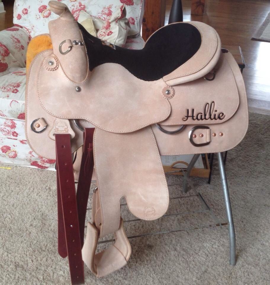 Custom Harris Leather & Silverworks Work Saddle | Custom