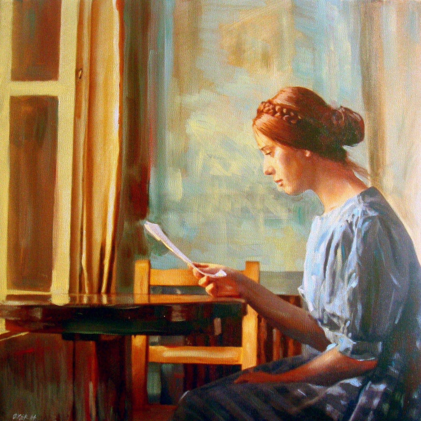William oxer letter artartist paintingfigurative