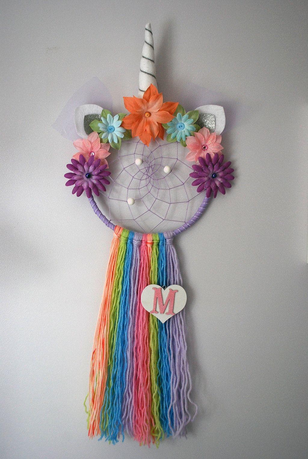 Improved Photo S To My Etsy Shop Unicorn Dream Catcher Unicorn Dreamcatcher Rainbow Dr