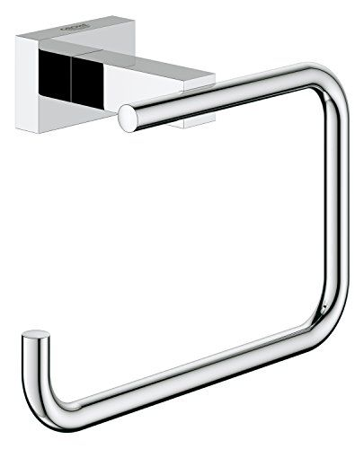 Essentials Cube Toilet Paper Holder * Want additional info? Click - badezimmerzubehör ohne bohren